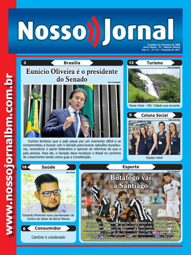 Jornal Edição Fevereiro 2017