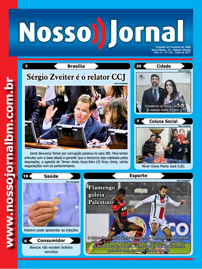 Jornal Edição Agosto 2017