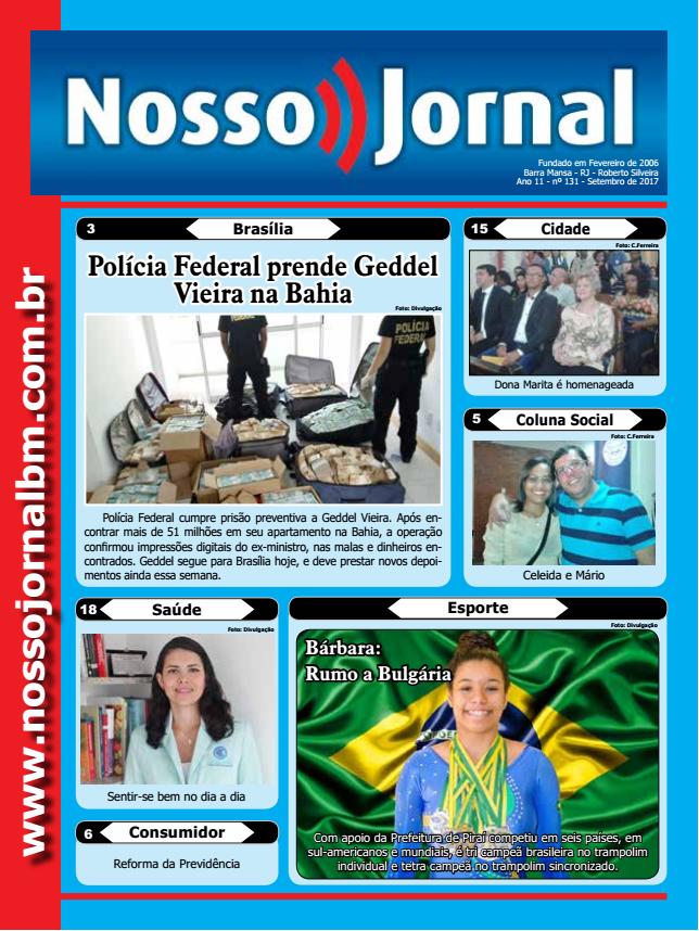 Jornal Edição Setembro 2017