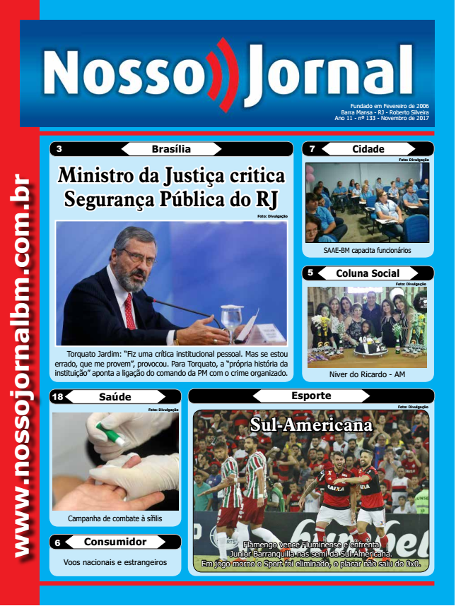Jornal Edição Novembro 2017