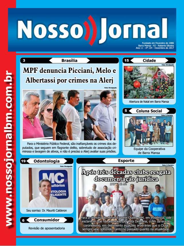 Jornal Edição Dezembro 2017